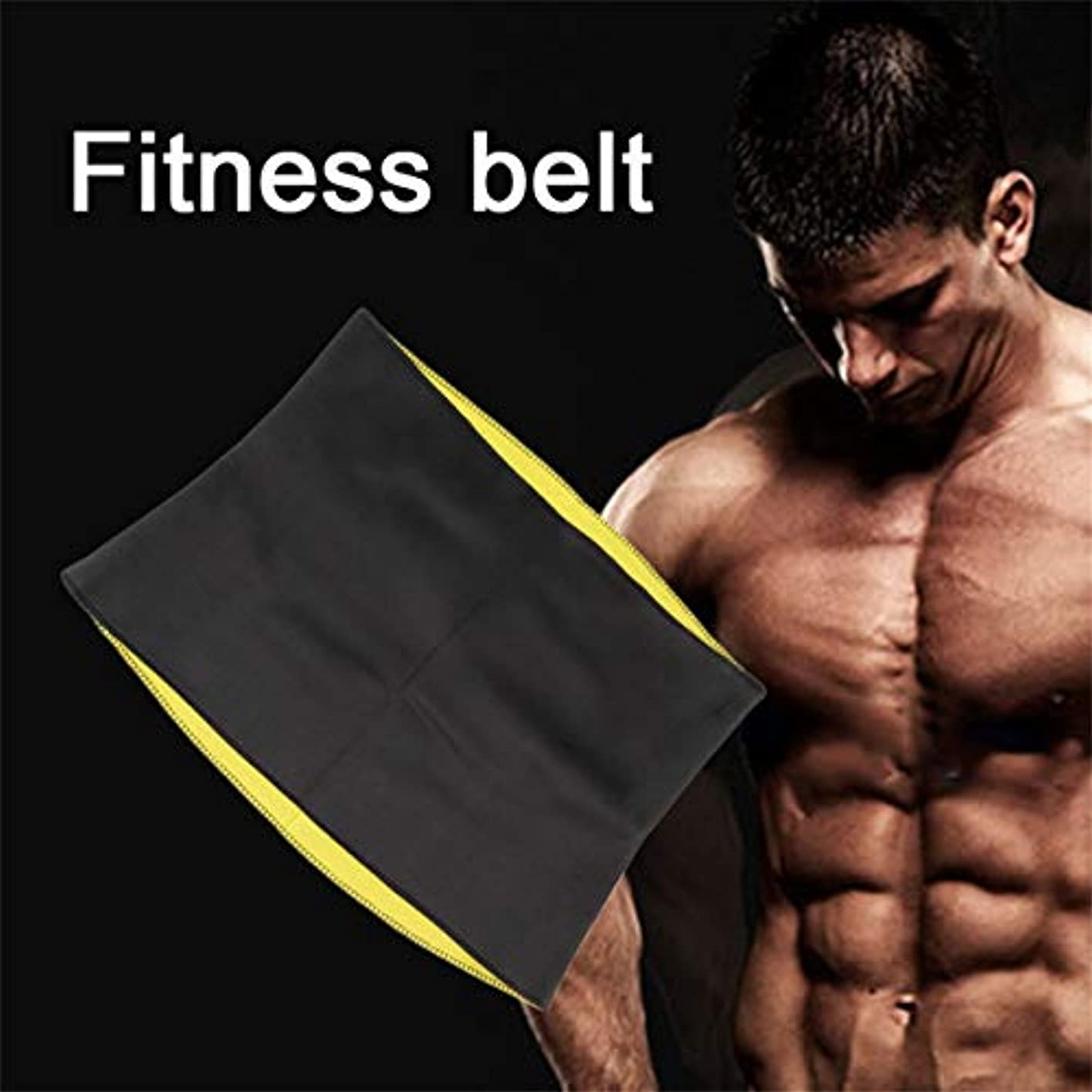 観察滝汚物Women Adult Solid Neoprene Healthy Slimming Weight Loss Waist Belts Body Shaper Slimming Trainer Trimmer Corsets