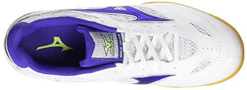 US6 24 WAVE 81GA1705 5 Details MIZUNO White Tennis about Shoes 5cm DRIVE 8 Table Purple N0vOymPnw8