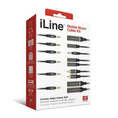 【日本正規代理店品】IK Multimedia iLine Mobile Music Cable Kit (オーディオケーブルセット) IKM-OT-000016