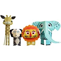 Papertoy Paper Animals - The Wild Bunch