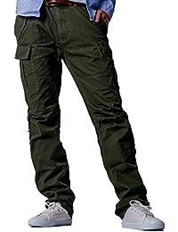 HOLITED ミリタリー 2WAYカーゴパンツ 作業着 作業服 登山パンツ メンズ レディース