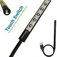 USB LED, USB Keyboard Light, Sonkoo Brightness Mini Portable USB Lamp Reading Lamp Laptop Light with Touch Switch Flexible Neck [並行輸入品]