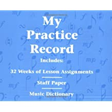 My Practice Record Staff Paper/Music Dictionary