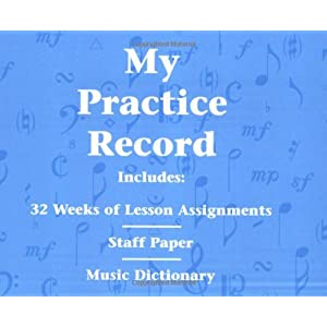 My Practice Record (Hal Leonard Student Piano Library)