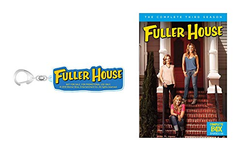 【Amazon.co.jp限定】フラーハウス 3rd シーズン DVDボックス (1~18話・2枚組)(オリジナルアクリルキーホルダー付)