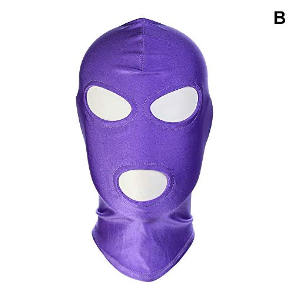 ジャム品種引っ張るAlligado 1ピースマスクフードセックスグッズ製品ゲームコスプレボンデージヘッドギア安全なハロウィーンギフト