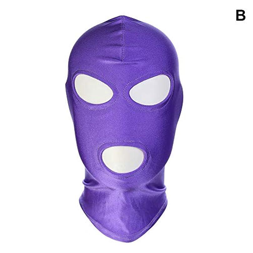 綺麗な出演者望ましいAlligado 1ピースマスクフードセックスグッズ製品ゲームコスプレボンデージヘッドギア安全なハロウィーンギフト