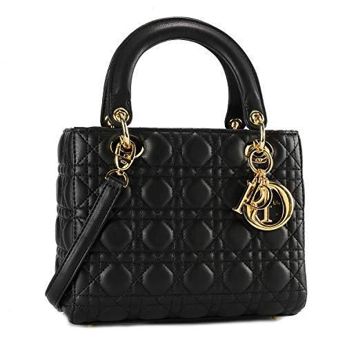 Christian Dior mini ハンドバッグ トートバッグ ショルダーバッグ 通勤 通学 手提げ 肩掛け 斜め掛け056黑羊金