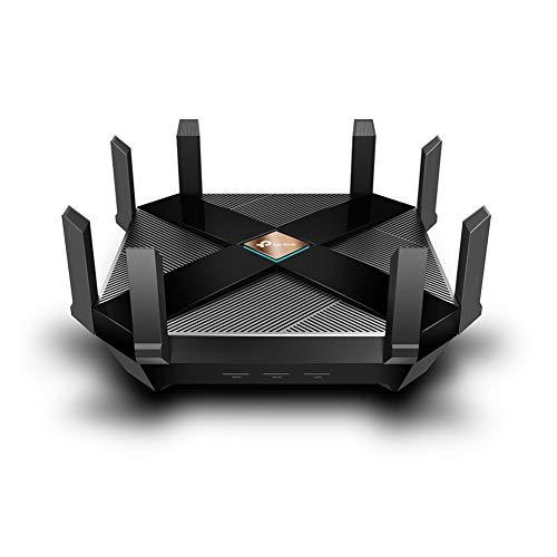 TP-Link WiFi 無線LAN ルーター Wi-Fi6 AX6000 iphone11 対応 11AX 4804Mbps + 1148Mbps Archer AX6000 3年保証 【 iphone 11 / iphone 11 pro 対応】