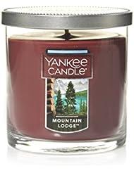 Yankee Candle Lサイズ ジャーキャンドル、マウンテンロッジ Small Tumbler Candle ブラウン 1187963Z