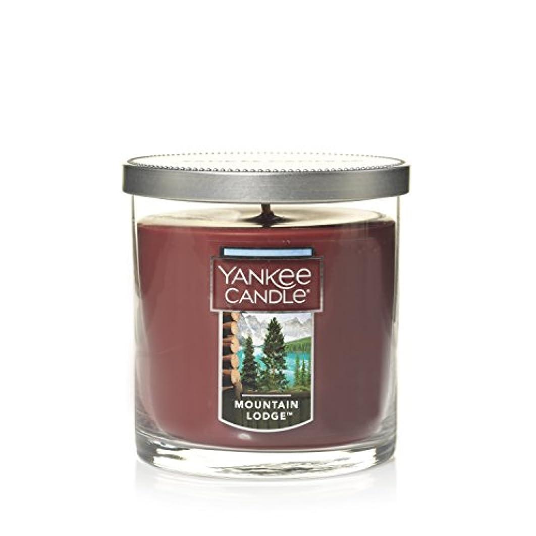遺跡潤滑する発見Yankee Candle Lサイズ ジャーキャンドル、マウンテンロッジ Small Tumbler Candle ブラウン 1187963Z