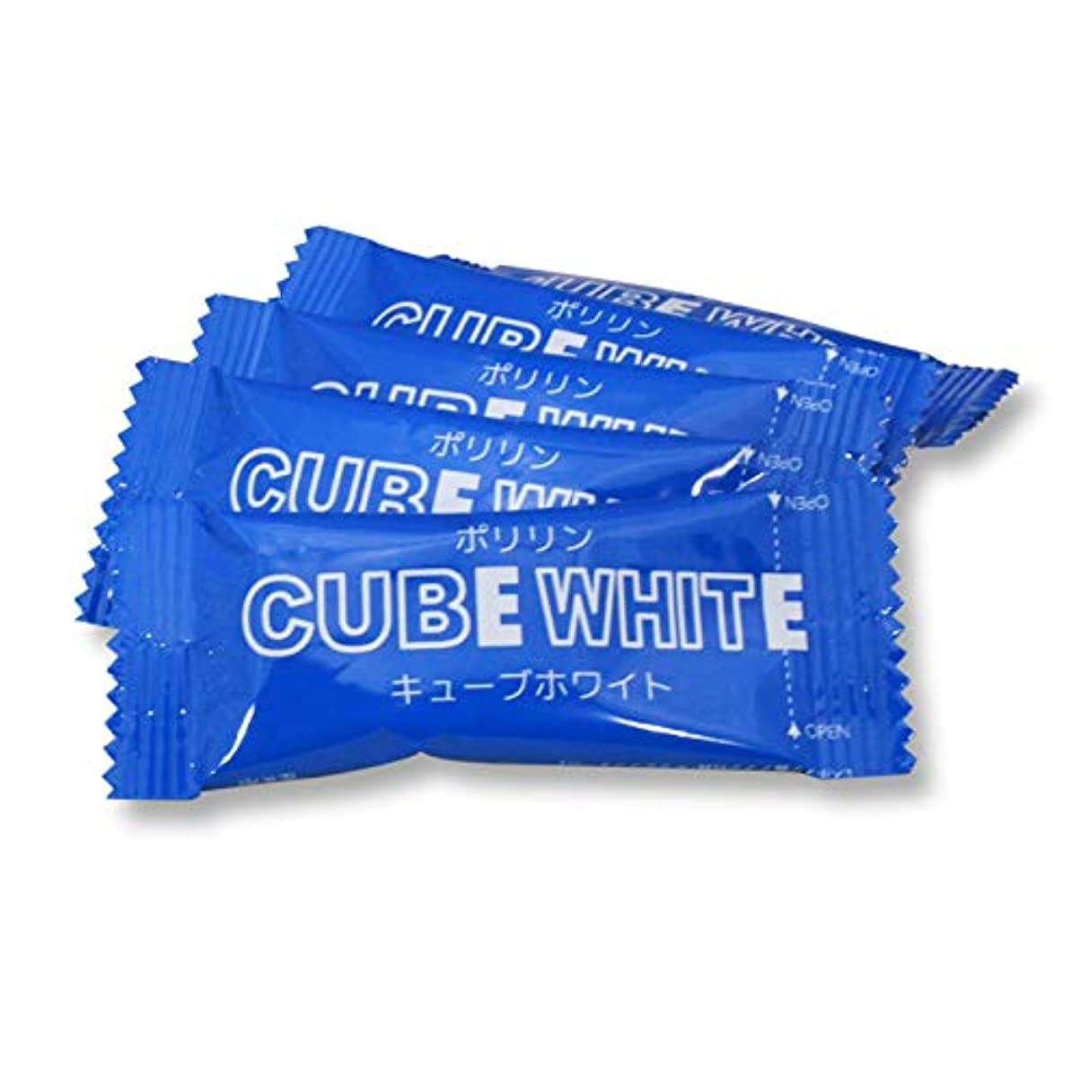 思想印象的なしっとりリジェンティス キューブホワイト 【5袋入】 歯面専用 スポンジ 歯 ブラシ 付き ホワイトニング 歯磨き