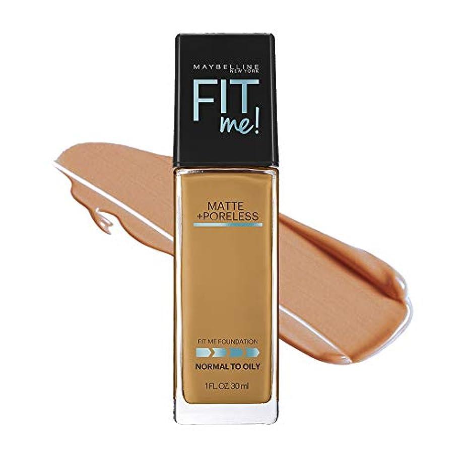 測定ロゴ包帯メイベリン フィットミー リキッド ファンデーション 330 健康的な肌色(イエロー系)