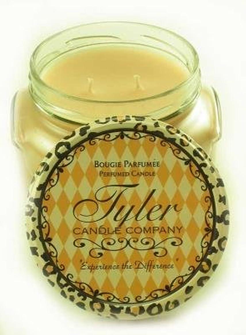 慢性的メイド言い聞かせるEntitled Tyler 11オンス香りつき2-wick Jar Candle