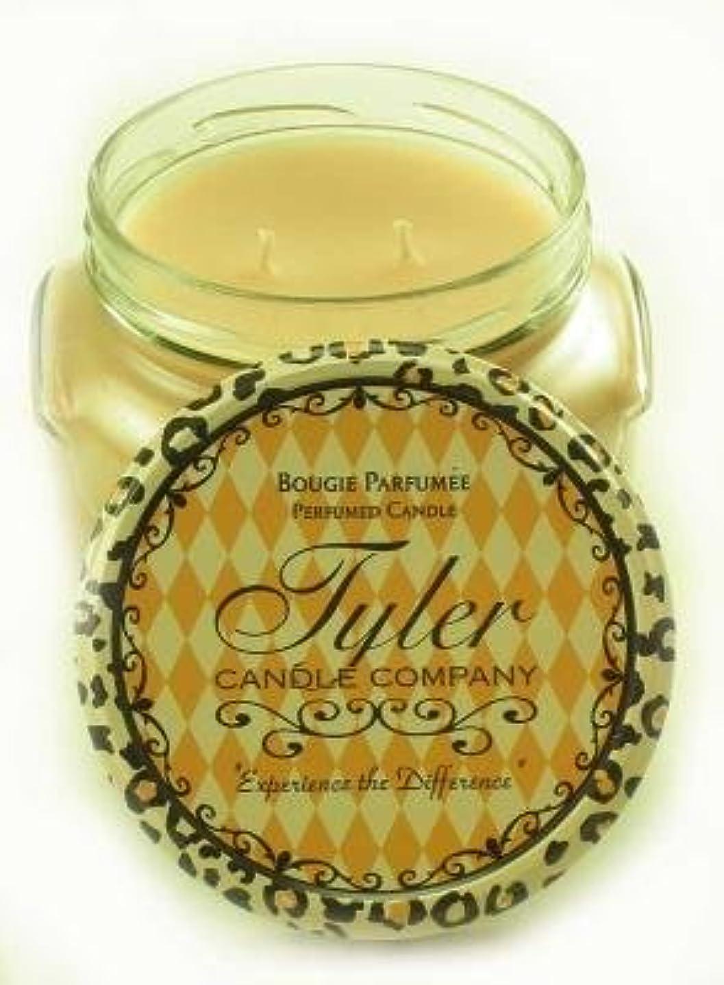 偏心限られた扱うEntitled Tyler 11オンス香りつき2-wick Jar Candle