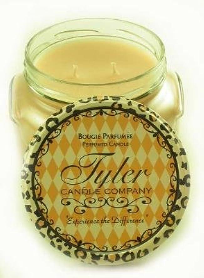骨髄ブート津波Entitled Tyler 11オンス香りつき2-wick Jar Candle