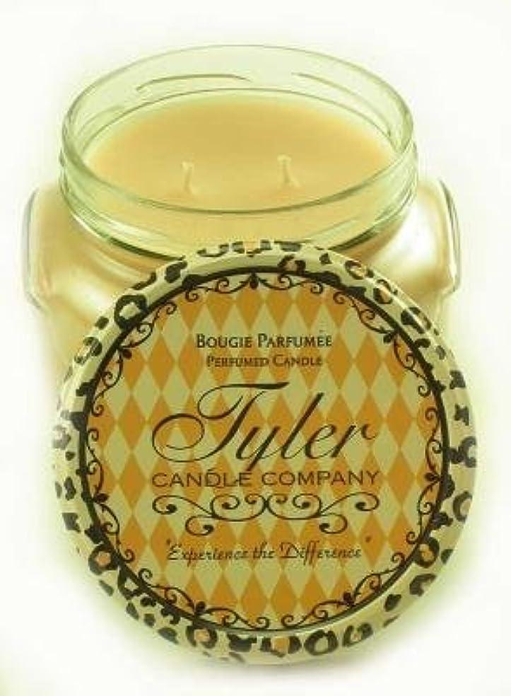 長くする追放する好奇心盛Entitled Tyler 11オンス香りつき2-wick Jar Candle
