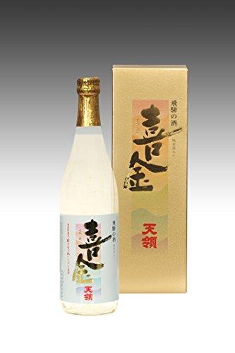 天領 本醸造 桜形金箔入り祝い酒 「喜金」 720ml