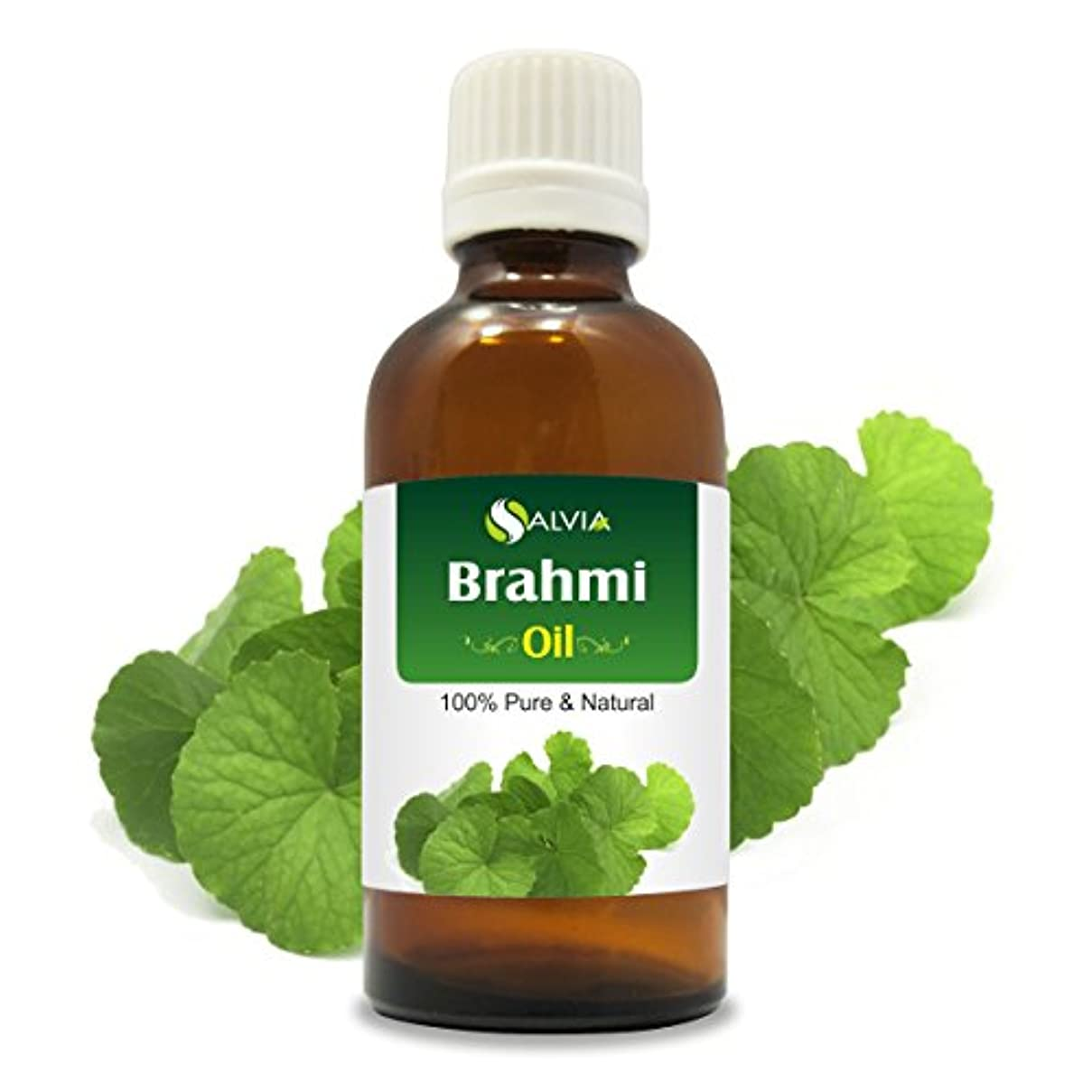 消えるロゴ粘り強いBRAHMI OIL 100% NATURAL PURE UNDILUTED UNCUT OIL 30ML