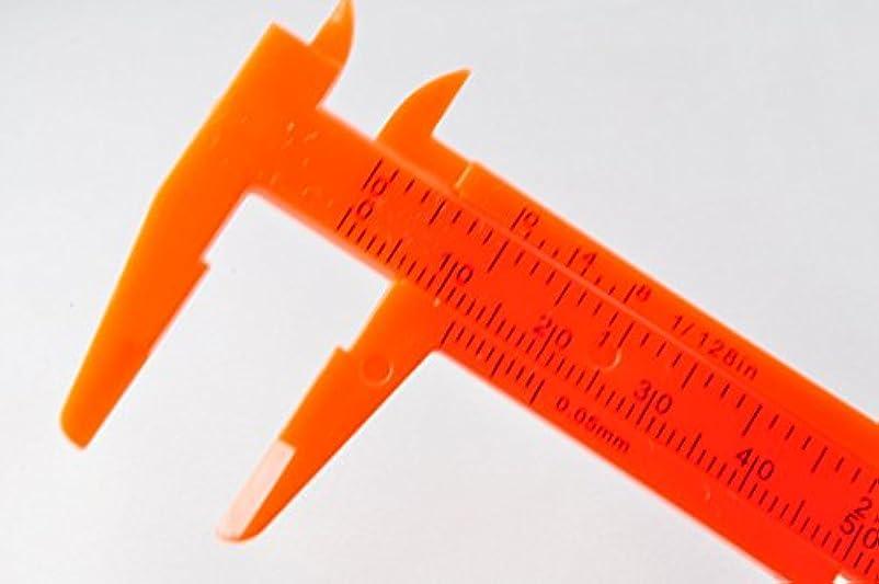 財政重要なバットプラスティック製 ノギス 80mmスケール