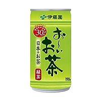 【ケース販売】伊藤園 おーいお茶 緑茶 190g×30本