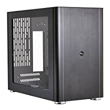 Lian Li 縦横配置可能 Mini-ITXケース アクリルウィンドウ ブラック PC-Q38WX 日本正規代理店品