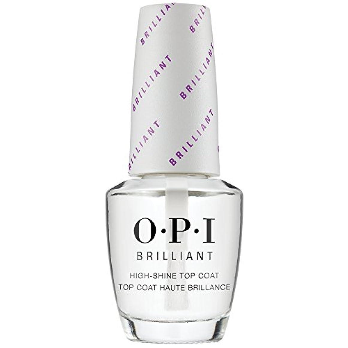 討論首段落OPI(オーピーアイ) オーピーアイ ブリリアント トップコート