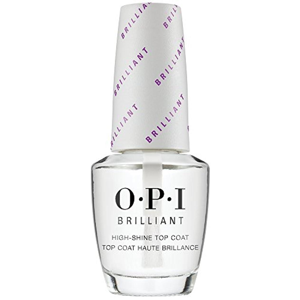 倫理慢性的偉業OPI(オーピーアイ) オーピーアイ ブリリアント トップコート