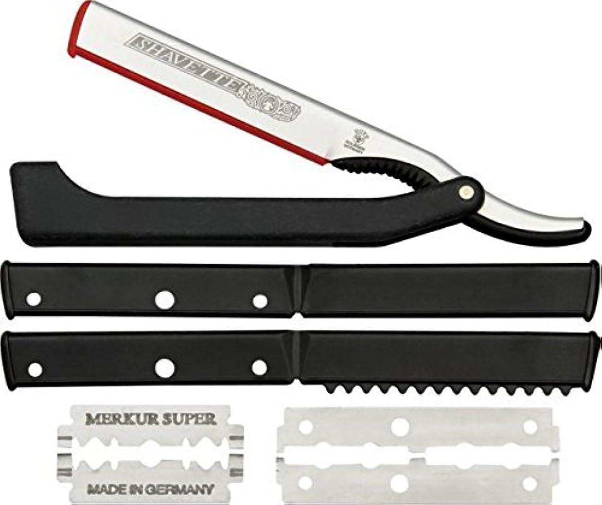 アイロニー浸す気難しいDOVO Solingen - Shavette, straight edge razor, changeable blade, 201081