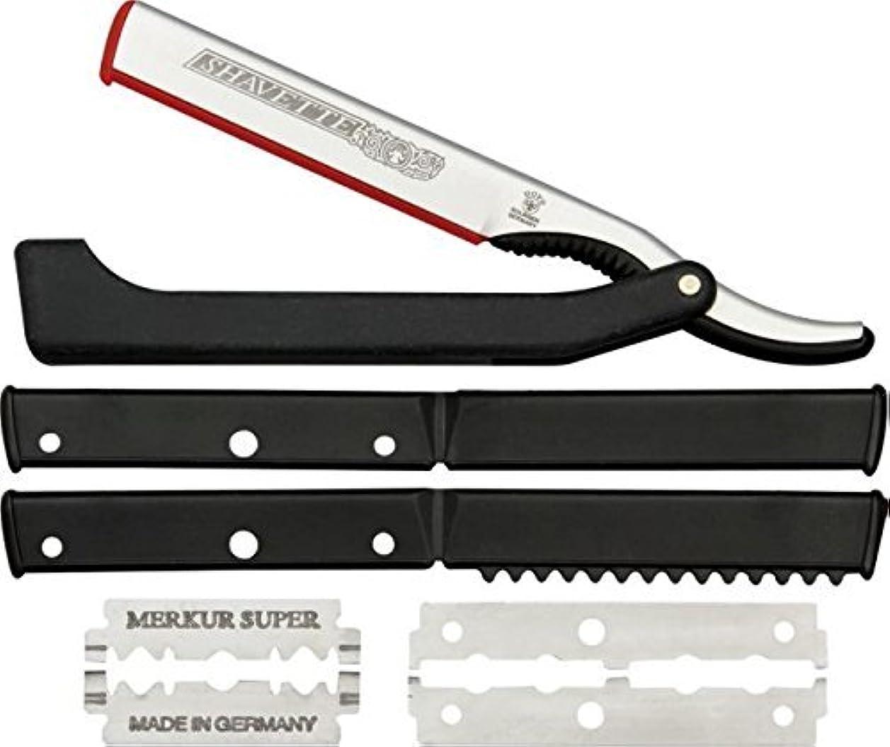 データム上院議員声を出してDOVO Solingen - Shavette, straight edge razor, changeable blade, 201081