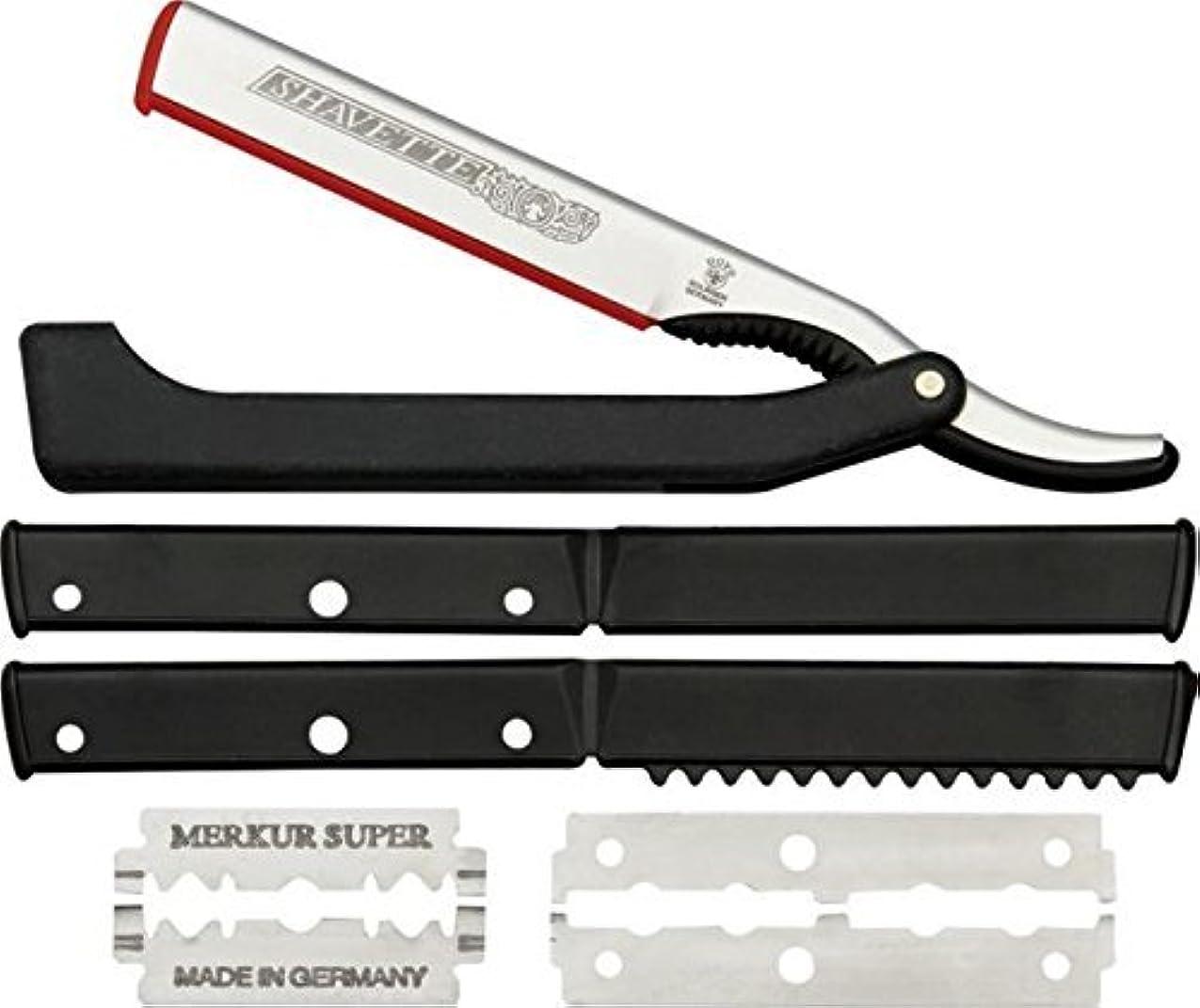 集団的ブランチうれしいDOVO Solingen - Shavette, straight edge razor, changeable blade, 201081