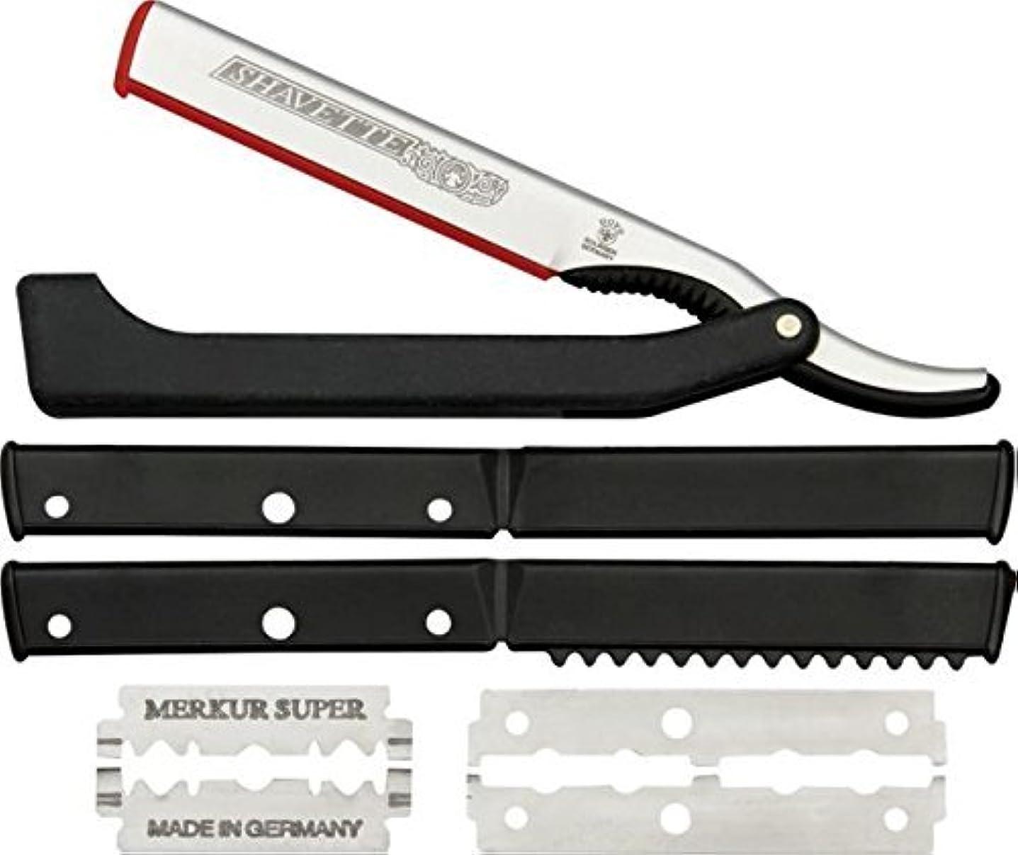 円周性能人DOVO Solingen - Shavette, straight edge razor, changeable blade, 201081