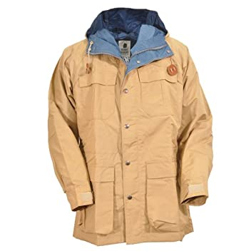 Mountain Parka 7910: Vintage Tan / Navy