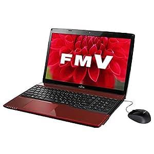富士通 ノートパソコン FMV LIFEBOOK AH45/T ルビーレッド(Office Home and Business Premium) FMVA45TRP