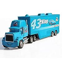 LIFEディズニーピクサーカーズ3 2ライトニングマックィーン1:55 mackトラックをキングダイキャストメタル合金モデルフィギュアおもちゃギフト子供のためのブランド玩具 おもちゃの車のる