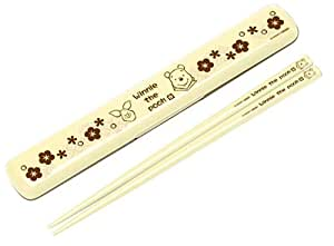くまのプーさん 和風 塗箸入りハシ箱セット(18.0cm) ANBG3