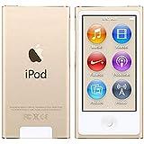 Iplayer iPod Nano 第7世代 ゴールド 16GB ジェネリックアクセサリー付き 小売用パッケージではありません
