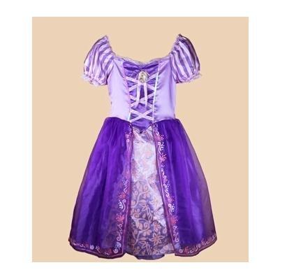 768dd9c092bda  ノーブランド品 プリンセス「塔の上のラプンツェル」お姫様 ラプンツェル風 子供用 ドレス Mサイズ 110cm-120cm  あなたのお子様が主役です!!