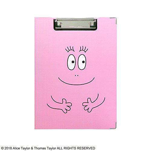 バーバパパ クリップボード ピンク ST-ZBP0001