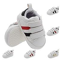 [サニーサニー] ベビーシューズ 赤ちゃん キーズ 子供靴 ファーストシューズ 女の子 男の子 スニーカー 運動靴 カジュアル マジック式 通気 耐磨 軽量 履きやすい 歩行練習 旅行 保育園 ギフト11-13cmレッド
