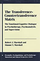 The Transference Countertransference Matrix: The Emotional Cognitive Dialogue in Psychotherapy, Psychoanalysis, and Supervision (PERSONALITY, PSYCHOPATHOLOGY, AND PSYCHOTHERAPY (COLUMBIA UNIV PR))