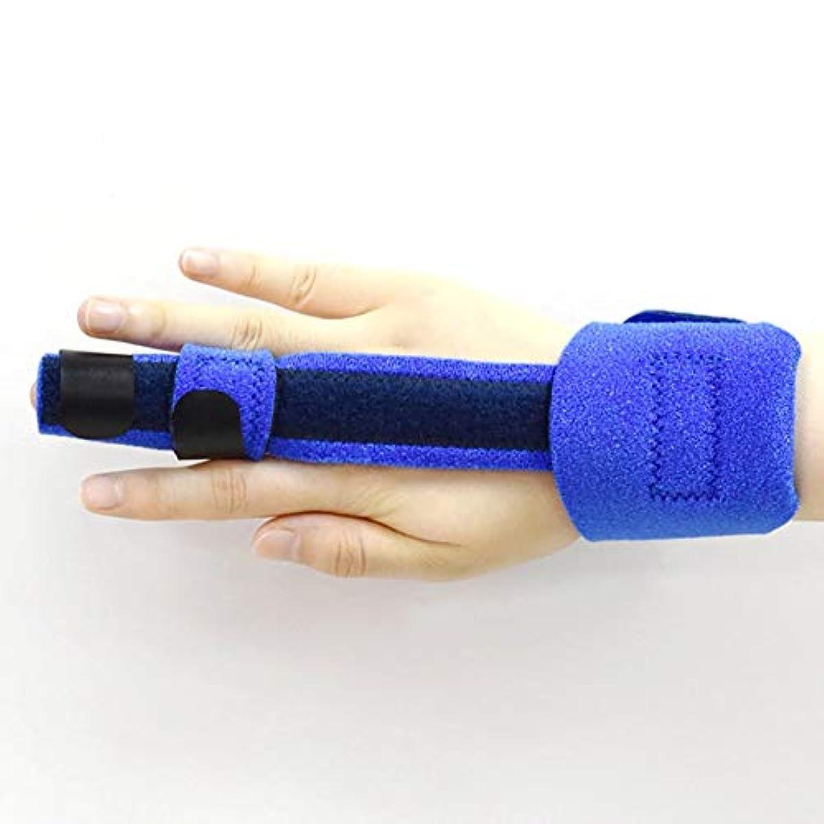 知覚できるソート書士指ストレイテナー無限のサポート可鍛性フィンガースプリント - 壊れたのトリガースプリント、マレットブレースは痛み、指や手首を和らげます