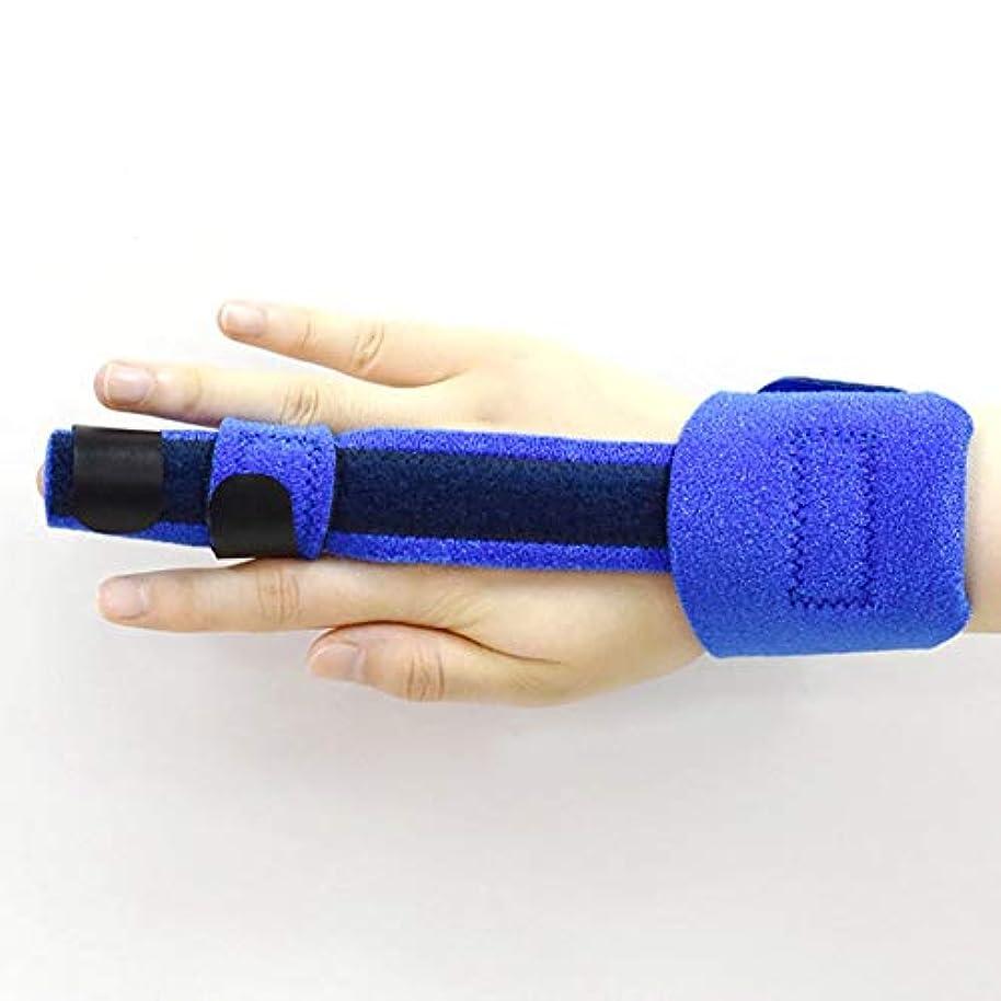 珍味見捨てられたロータリー指ストレイテナー無限のサポート可鍛性フィンガースプリント - 壊れたのトリガースプリント、マレットブレースは痛み、指や手首を和らげます