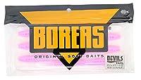 ボレアス(Boreas) ワーム デビルズテール 5インチ #103 ピンクシャッド.