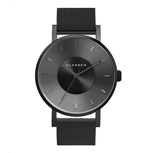 [クラス14]KLASSE14 メンズ レディース Volare Dark Metal ヴォラーレ 42mm ブラック ステンレス VO17BK005M 腕時計[並行輸入品]