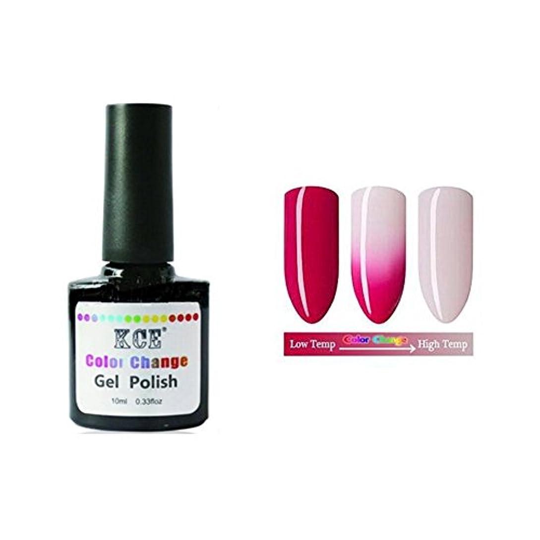 群れ絶えず異常1ボトル10ml 温度によって色が変わる ネイルジェル 変色ジェルネイル UV/LEDジェルネイルアート