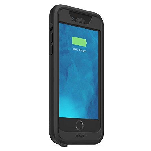 【日本正規代理店品・保証付】mophie juice pack H2PRO for iPhone 6 防水ケース (2,750mAh バッテリー内蔵) ブラック MOP-PH-000097