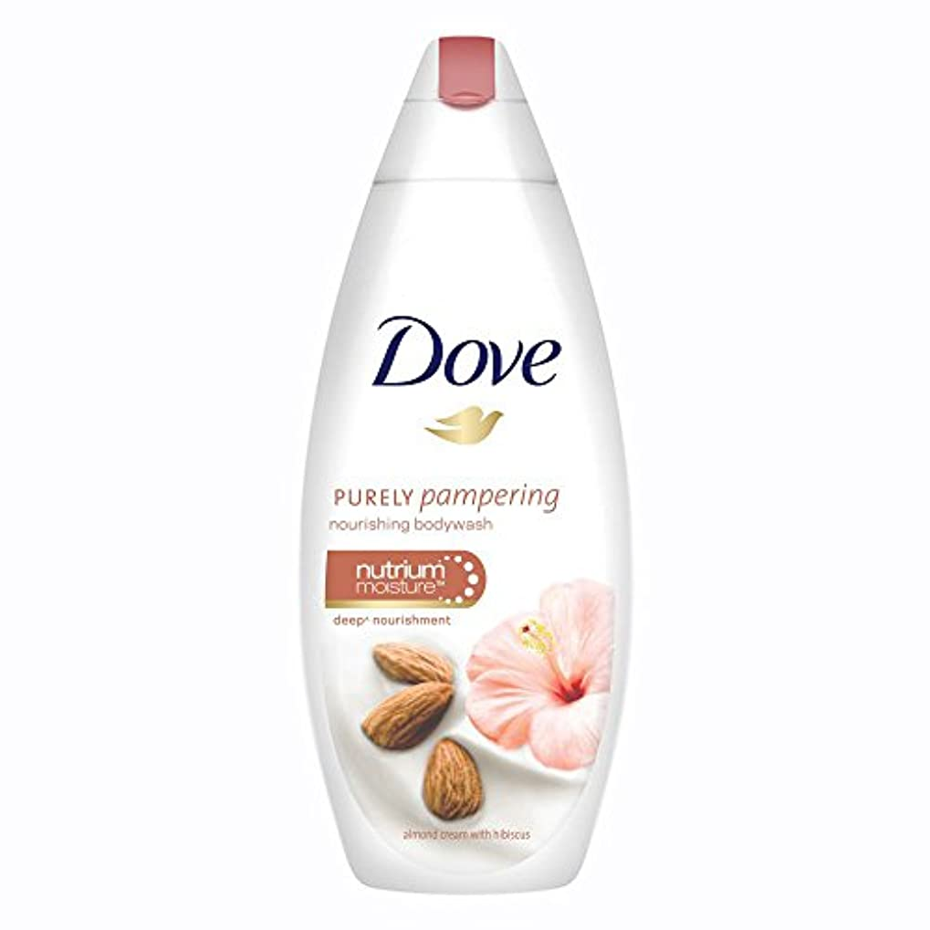 配偶者包囲ディンカルビルDove Purely Pampering Almond Cream and Hibiscus Body Wash, 190ml