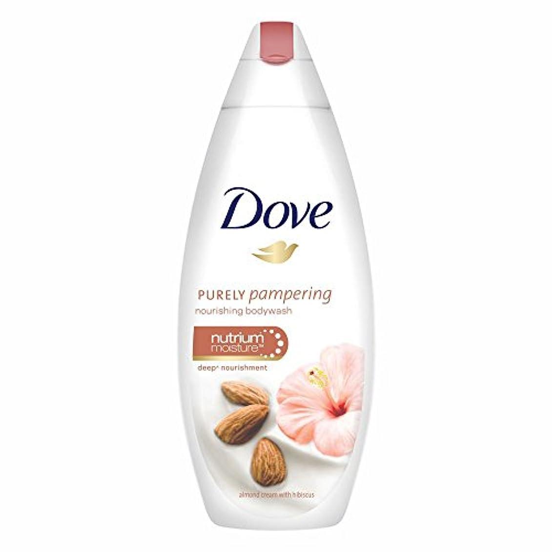 教室トリクル衣服Dove Purely Pampering Almond Cream and Hibiscus Body Wash, 190ml