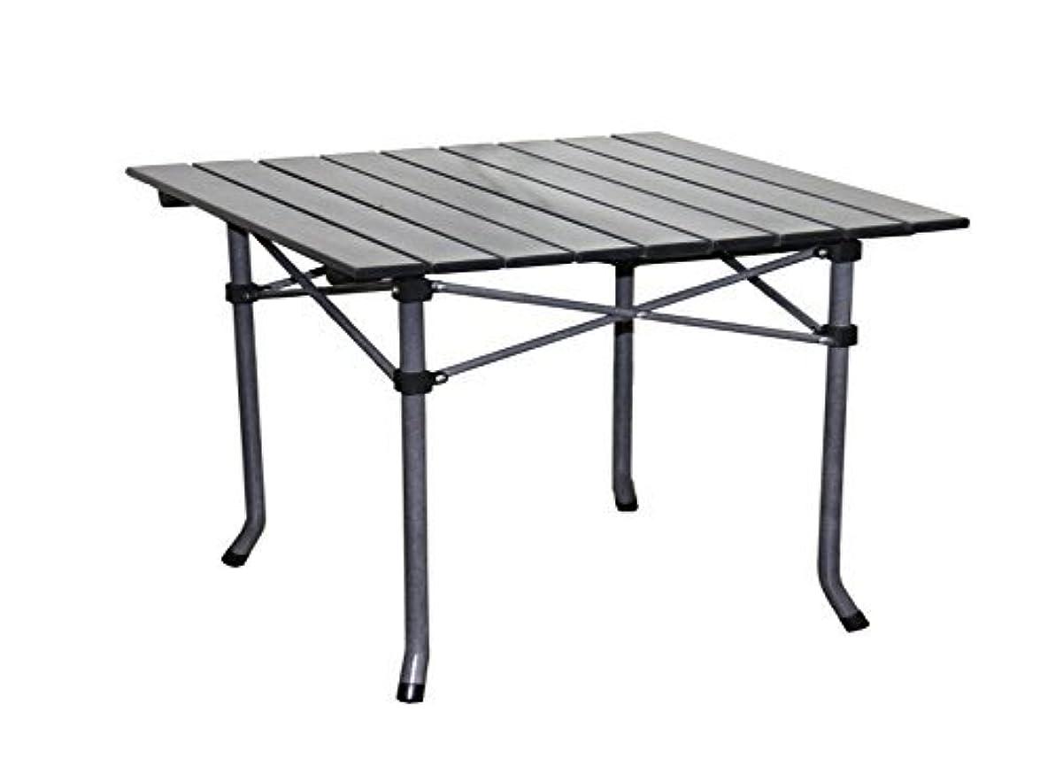 の間で幼児呼びかけるOre International M61618 Aluminum Roll Slat Kid's Table Dove Gray 19.75 x 21-Inch [並行輸入品]